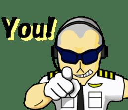 Funny Jet Pilot 2 sticker #13403799