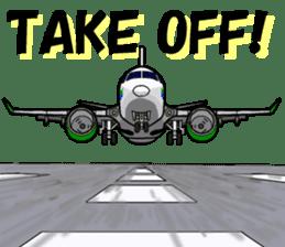 Funny Jet Pilot 2 sticker #13403805