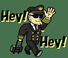 Funny Jet Pilot 2 sticker #13403812
