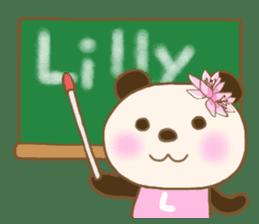For Lilly'S Sticker sticker #13405567