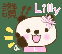 For Lilly'S Sticker sticker #13405568