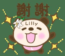 For Lilly'S Sticker sticker #13405574