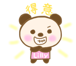 For Lilly'S Sticker sticker #13405581