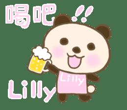 For Lilly'S Sticker sticker #13405585