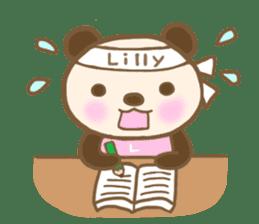 For Lilly'S Sticker sticker #13405590