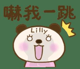For Lilly'S Sticker sticker #13405595