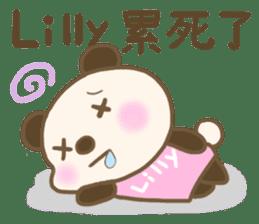 For Lilly'S Sticker sticker #13405599