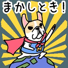 Mirco of the French bulldog. hum hum!!