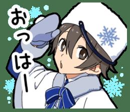 Christmas & New Year boy sticker #13409810