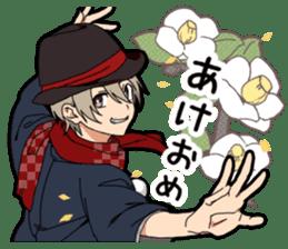 Christmas & New Year boy sticker #13409821