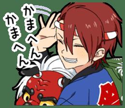 Christmas & New Year boy sticker #13409828