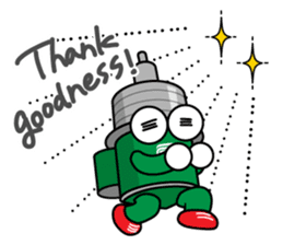 DAMPACHI & DAMPATTY English 3 sticker #13411897