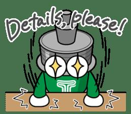 DAMPACHI & DAMPATTY English 3 sticker #13411912