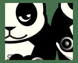 Move! ROBO Panda English sticker #13413864