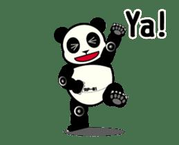 Move! ROBO Panda English sticker #13413865
