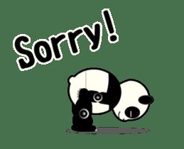 Move! ROBO Panda English sticker #13413868