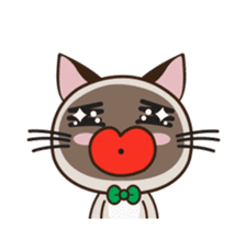 Chokdee Cute Cat DukDik1 sticker #13423509