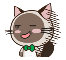 Chokdee Cute Cat DukDik1 sticker #13423513
