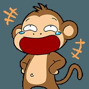 สติ๊กเกอร์ไลน์ What The Monkey (Animated)