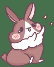 Bunny-Caramel sticker #13429382