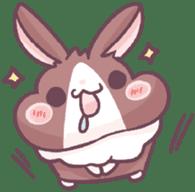 Bunny-Caramel sticker #13429383