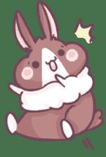 Bunny-Caramel sticker #13429384