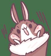 Bunny-Caramel sticker #13429386