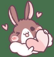 Bunny-Caramel sticker #13429387