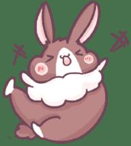 Bunny-Caramel sticker #13429388