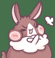 Bunny-Caramel sticker #13429390
