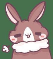 Bunny-Caramel sticker #13429391