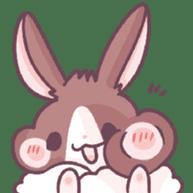 Bunny-Caramel sticker #13429392
