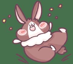 Bunny-Caramel sticker #13429393