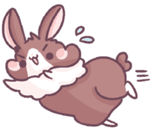 Bunny-Caramel sticker #13429395