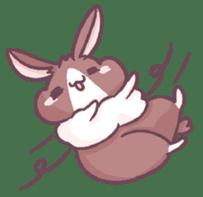 Bunny-Caramel sticker #13429398