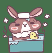 Bunny-Caramel sticker #13429401