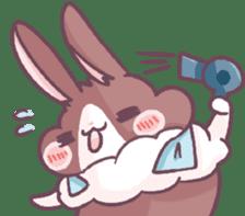 Bunny-Caramel sticker #13429402