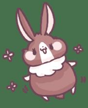 Bunny-Caramel sticker #13429403