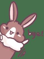 Bunny-Caramel sticker #13429407