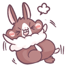 Bunny-Caramel sticker #13429409
