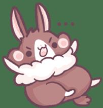 Bunny-Caramel sticker #13429410