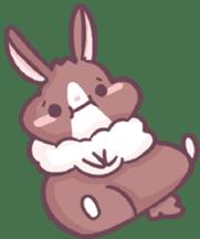Bunny-Caramel sticker #13429411