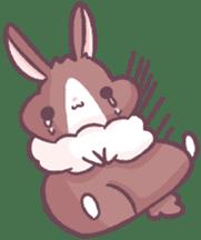 Bunny-Caramel sticker #13429412