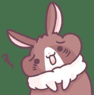 Bunny-Caramel sticker #13429415