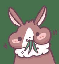 Bunny-Caramel sticker #13429416