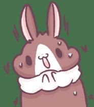 Bunny-Caramel sticker #13429418