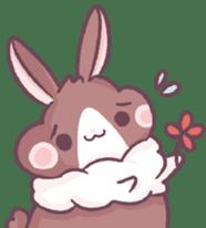 Bunny-Caramel sticker #13429419