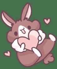 Bunny-Caramel sticker #13429420