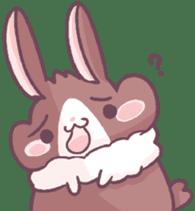 Bunny-Caramel sticker #13429421