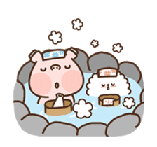 Hippo & Somi sticker #13433290